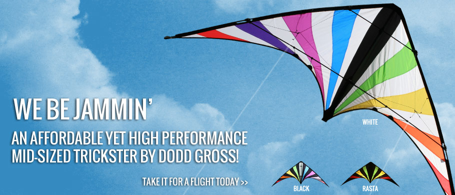 Based on Dodd Gross' first popular commercial design, this is an affordable yet high performance mid-size trickster.