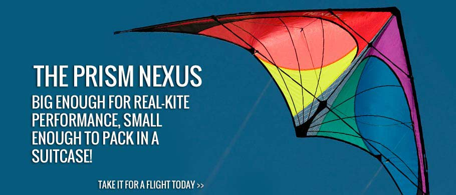 Big enough for real-kite performance, small enough to pack in a suitcase, the Nexus is an adrenaline-filled intro to sport kiting and we know it'll get you hooked.