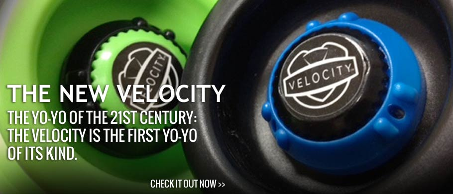 THE yo-yo of the 21st century: the Velocity is the first yo-yo of its kind.
