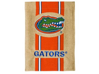 Burlap Garden Flag (University of Florida)