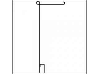 3-Piece Collapsible Garden Flag Pole
