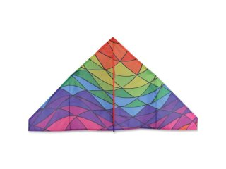 56 in. Delta Kite (Rainbow Triangles)
