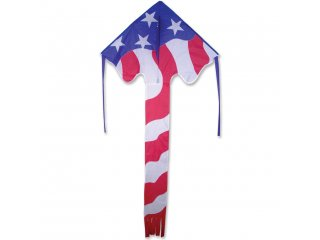 Large Easy Flyer Delta Kite (Patriotic)