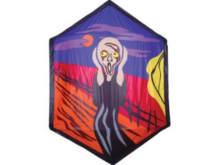 78 in. Rokkaku Kite (The Scream)