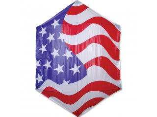 78 in. Rokkaku Kite (Old Glory)