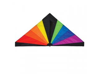 70 in. Delta Kite (Rainbow Black)