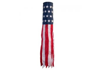 40 in. Windsock (Embroidered Star)