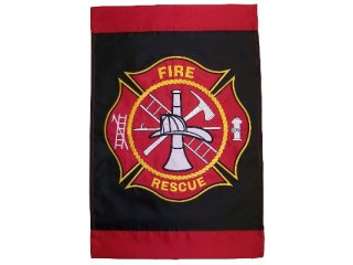 Garden Flag (Fire Rescue)