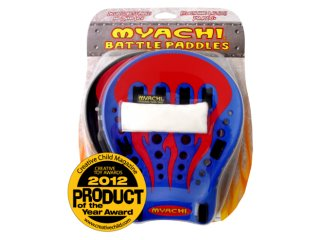 Myachi Battle Paddles (Red Flame)