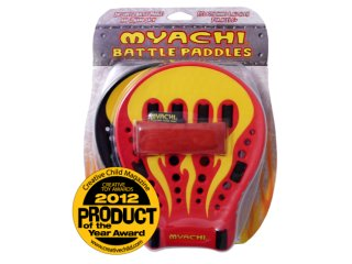 Myachi Battle Paddles (Yellow Flame)