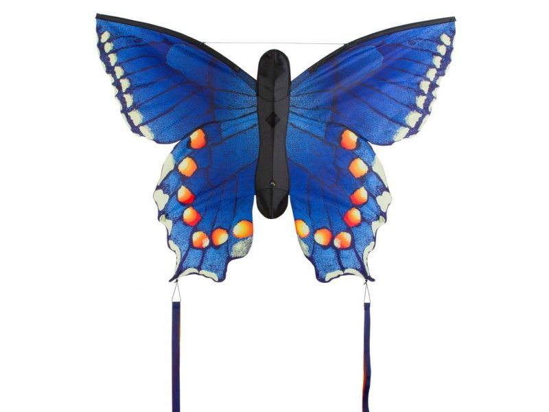 HQ Butterfly Kite (Blue Swallowtail)