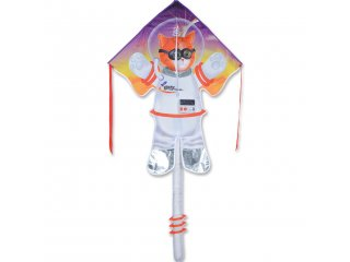 Large Easy Flyer Delta Kite (Catstronaut)