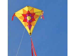 ITW Celestial Diamond Kite (Sunflower)