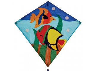 30 in. Diamond Kite (Fishes)