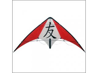 HQ Tattoo II Stunt Kite (Red/White)