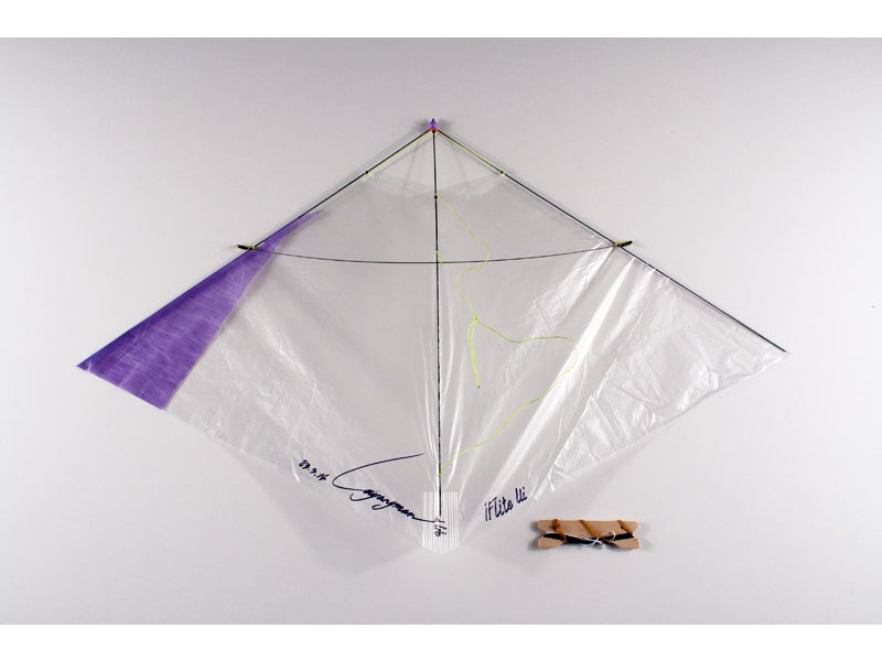 Iflite ui indoor glider kite purple kite stop kites for Indoor kite design