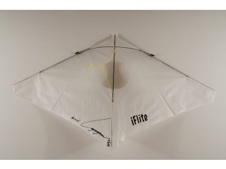iFlite Vented Indoor Kite (White)
