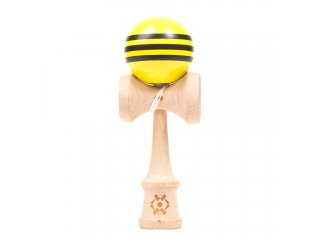 Tribute Kendama Triple Stripe (Yellow/Black)