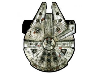 Supersized Star Wars Kite (Millenium Falcon)