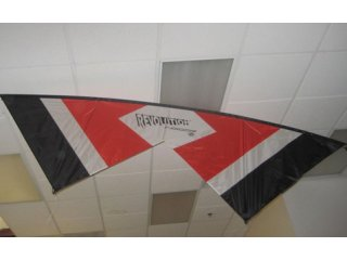 Revolution Indoor Quad-line Kite RTF (Red/White/Black)