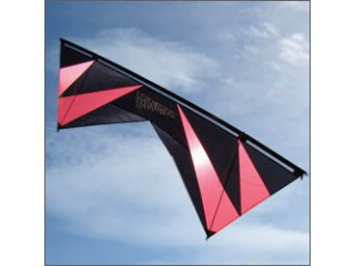 Revolution 1.5 SLE Quad-line Kite (Black/Red/Black)