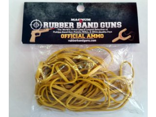 Rubber Band Gun Ammo 1 oz Bag (Yellow)