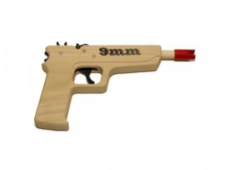 Rubber Band Gun (9mm Pistol)