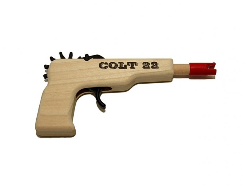 Rubber Band Gun Colt 22 Pistol Kite Stop Kites