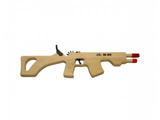 Rubber Band Gun (Jr. M-60 Rifle)