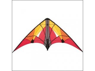 HQ Tango II Stunt Kite (Flashy Red)