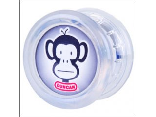 Duncan Throw Monkey Yo-Yo (Clear)
