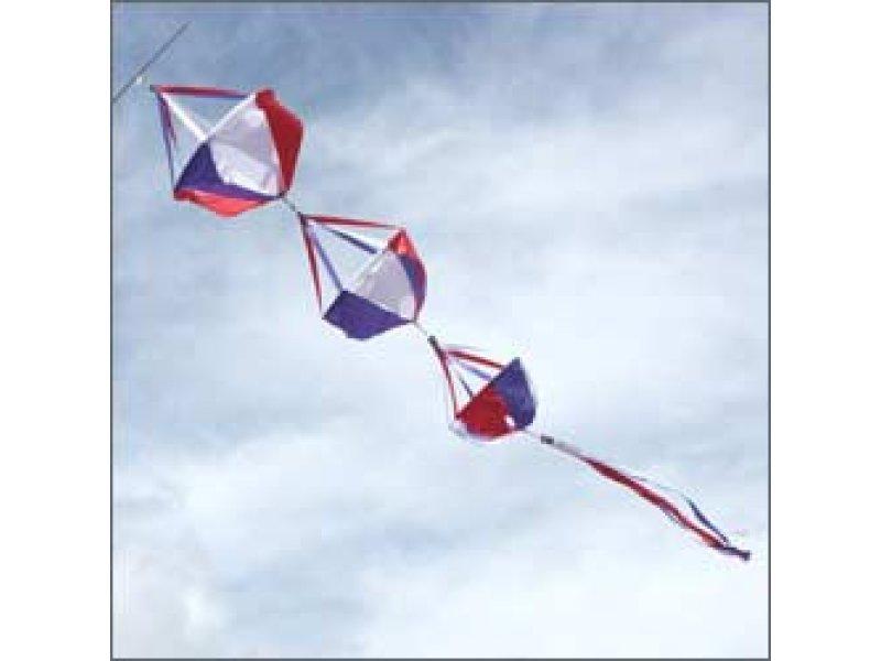 Large Spinnie Set Patriotic Kite Stop Kites