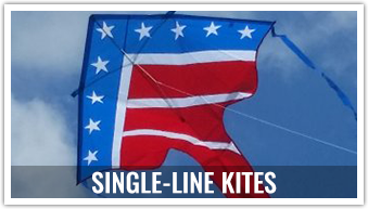 Whether you are going to the beach or your local park, these easy to assemble single-line kites are sure to please.