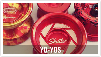 Donminate the competition with our competition-level yo-yos from YoYoFactory and Duncan.