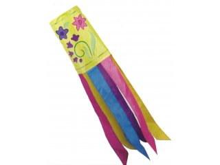 40 in. Windsock (Flowers)