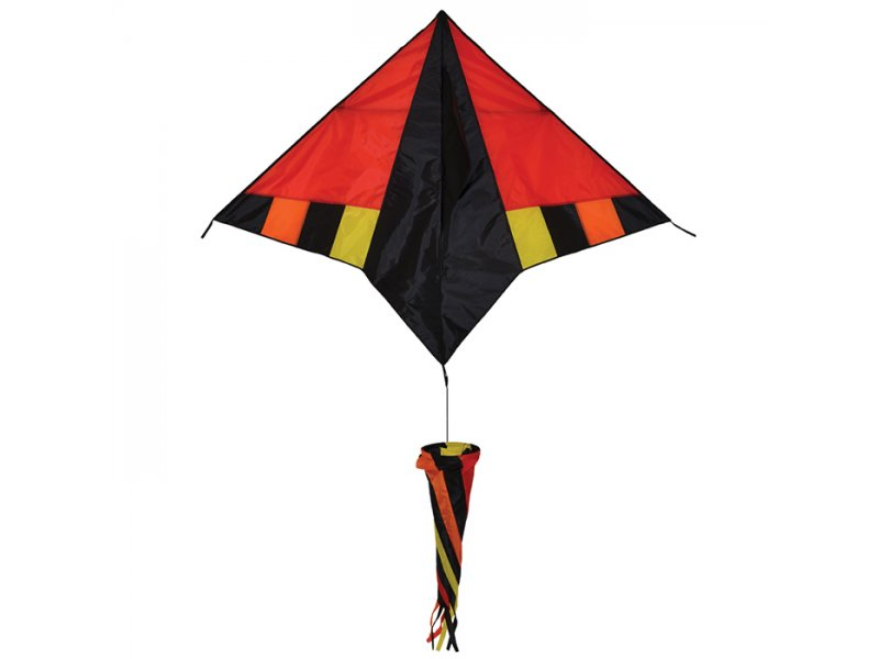 60 in. Delta Kite (Hot Wind)