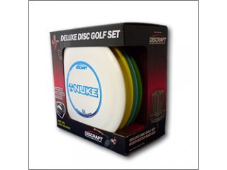 Discraft Deluxe Disc Golf Set