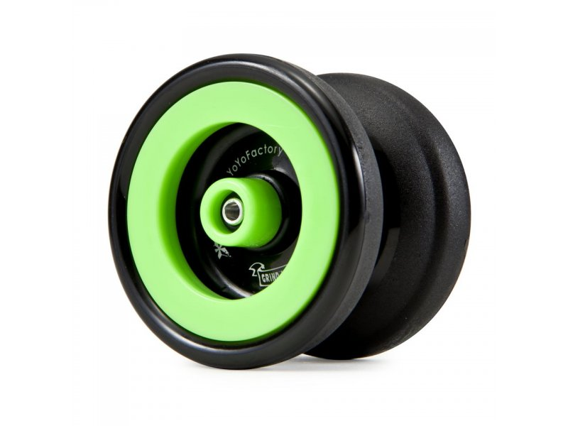 YoYoFactory Grind Machine Yo-Yo (Black)